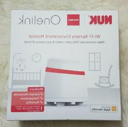 NEW! NUK First Alert Onelink Wi-Fi Baby Nursery Environment