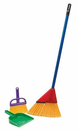 New PLAY BROOM SET FOR TODDLER BOY GIRL KITCHEN ACCESSORY CL