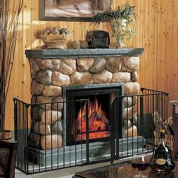New Safety Fence Hearth Gate BBQ Metal Fire Gate Fireplace P