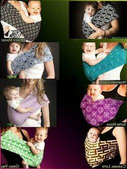 New Seven Slings Baby Infant Newborn Carrier Sling Cute Styl