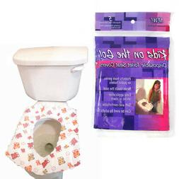 New Toilet Training Disposable POTTY Seat Cover 5 Pack Kids