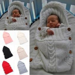 Newborn Baby Boy Girl Blanket Swaddle Sleeping Bag Kids Slee