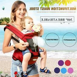 Newborn Baby Carrier Kids Toddler Waist Hip Seat Wrap Belt S