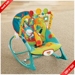 Baby Rocker Chair Newborn Infant Toddler Rocking Bunting Swi