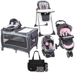 Newborn Walk Out Baby Trend Stroller with Car Seat Playard H