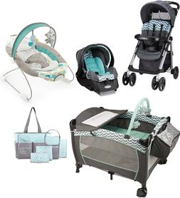 Evenflo Newborn Walk Out Travel System Baby Stroller Car Sea