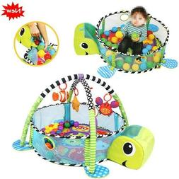 ⟦NEW⟧Infant Toddler Baby Play Set Activity Gym Playmat F