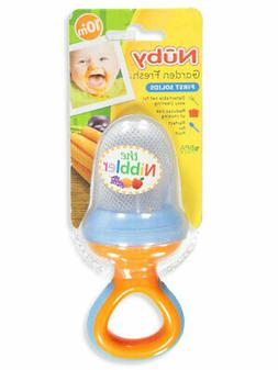 Nuby Nibbler Feeder with Travel Cover
