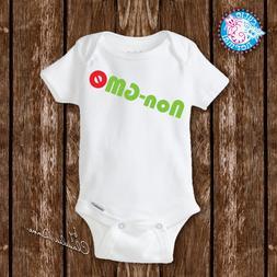 No GMO Baby Onesies Organic Style Unisex Baby newborn clothe