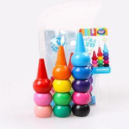 Non-toxic Children's Safety Crayon Baby 3D Finger Art Suppli