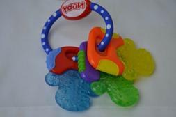 nuby ice gel teether keys for teething babies