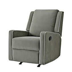 Nursery Chair Robyn Rocking Recliner, Grey