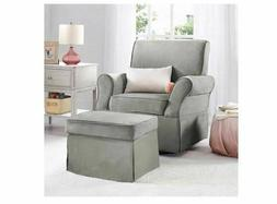Nursery Glider Chair Baby Swivel Nursing Living Room Lounge