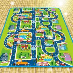 Nursery Playmats Developing Toys City Traffic Game Pads Eva