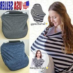 Nursing Breastfeeding Cover Scarf Car Seat Canopy Stroller C