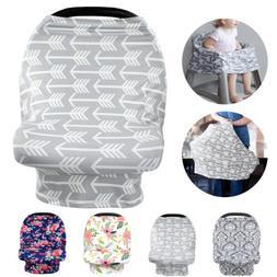Nursing Covers Breastfeeding Privacy Blanket Baby Scarf Infa
