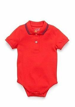 NWT Nursery Rhyme Baby-Boys Play Solid Polo Fashion Bodysuit