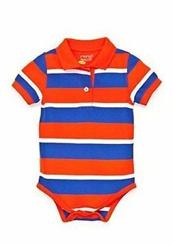 NWT Nursery Rhyme Baby-Boys Play Striped Fashion Polo Bodysu