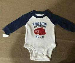 NWT Carters Baby Boy Clothes 3 Months Bodysuit Fire Truck Ch