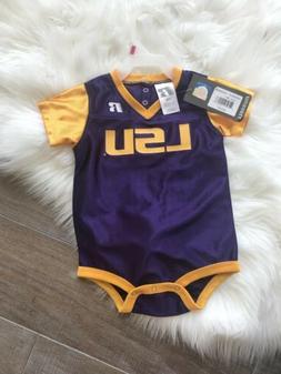 NWT LSU TIGERS NIKE FOOTBALL JERSEY ONSIE INFANT 18 Months B