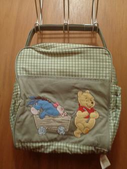 Disney Baby NWT Mini Diaper Bag Winnie the Pooh Pulling Eeyo