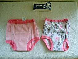 "Gerber "" NWT "" Pack Of 2 Girls Size 3T Training Pants "" GREA"