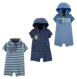 Baby B'gosh Carter's Rompers Baby Boys One Piece Short Sleev
