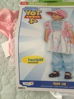 NWT Toy Story 4 BO PEEP Halloween Costume Dress Leggings Bon