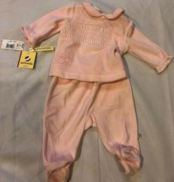 NWT Toy's R Us Absorba  Layette  Pink Baby Girl's Clothe
