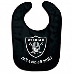 Las Vegas Raiders NFL Little Fan Baby Feeding Bib Infant Tod