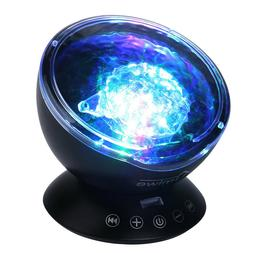 Projector Night Light Sound Machine Aux Music Player Nursery