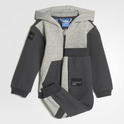 Adidas Originals Infant EQT Hooded Fleece Tracksuit Children