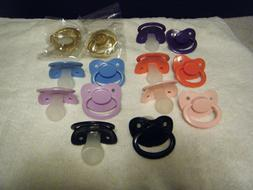 PACIFIER BY BABY PANTS, SILICONE, SIZE 6, ADULT, OVER SIZED
