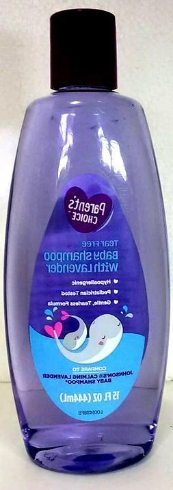 Parent's Choice Tear Free Baby Shampoo Lavender 15 fl oz