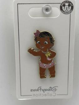 Disney Parks Trading Pin Princess Young Baby Moana Bathing S