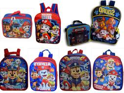 Paw Patrol Boys School Backpack Lunch box Book Bag Toddler K