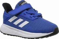 adidas Performance Baby Duramo 9 Running Shoe, Blue/White/Bl
