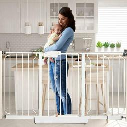 Pet Safety Gate Door Pet Fence Baby Barrier Walk Through Tod