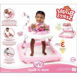 Baby Girl Pink Walker Play Activity Toddler Toy Music Sound