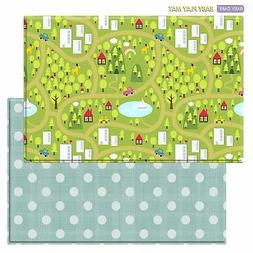 Baby Care Play Mat Country Town Blue Large CountryTown - Blu