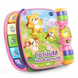 Baby Pink Musical Nursery Rhyme Book Play Toddler Interactiv
