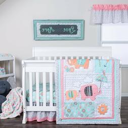 Trend Lab Playful Elephants Baby Nursery Crib Bedding CHOOSE