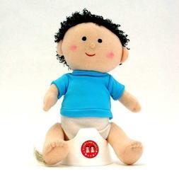 Once Upon A Potty Plush Doll Set With Mini-Potty - Boy Blue