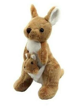 Plush kangaroo stuffed animal toy Cute Toy for Baby and Todd