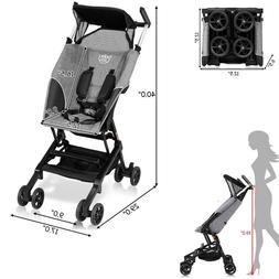 Pocket Stroller Folding Mini Strollers Lightweight Travel Ba