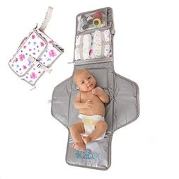 Baby Portable Changing Pad | Lightweight Travel Diaper Stati