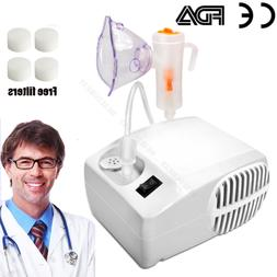 Portable Nebulizer Machine with 20 Filters, Travel Bag, Adul