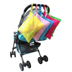 Portable Pram Stroller Organizer Baby Clothes Nappy Diaper B