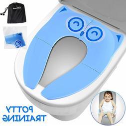 Portable Reusable Toilet Potty Training Seat-Bath, Room,Trav