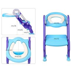 Mangohood Potty Training Toilet Seat with Step Stool Ladder